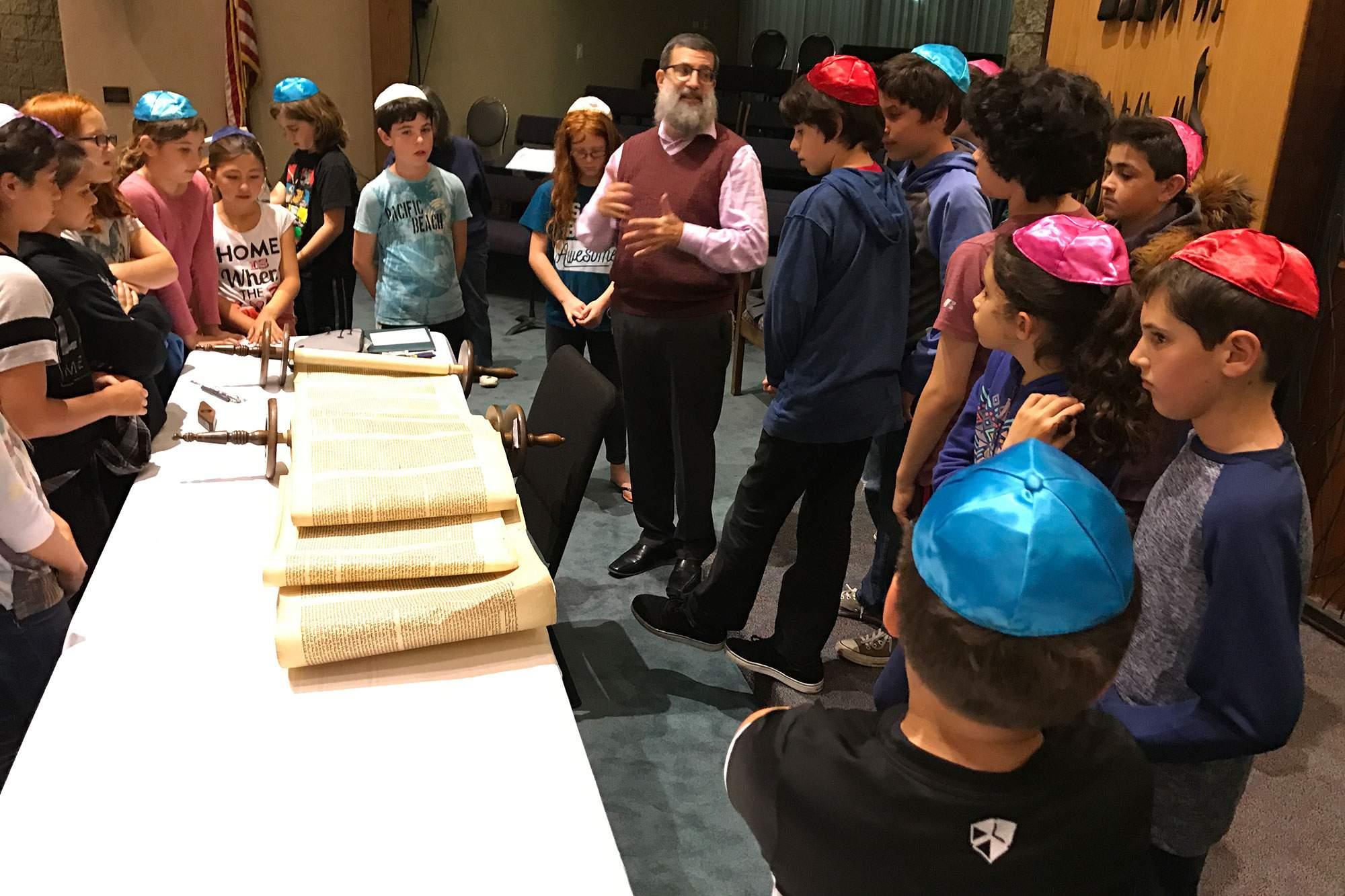 Our Memorial Torah Scrolls